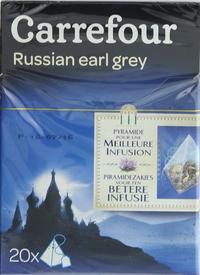 Carrefour Russian Earl Grey Tea 20's