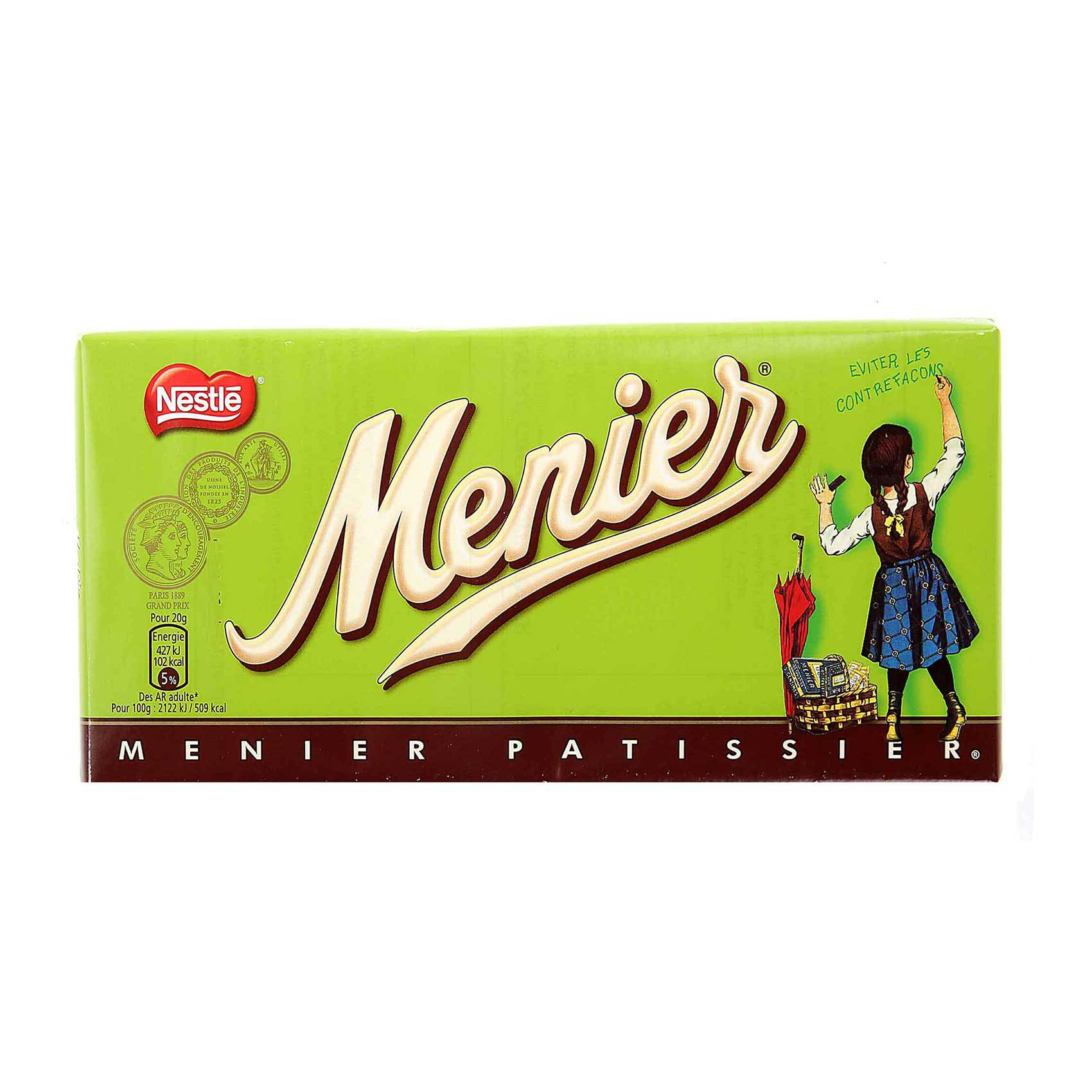 NESTLE CHOCOLATE MENIER 200GR