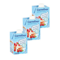 Carrefour Cream UHT Light 200mlx3