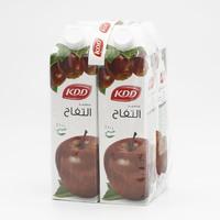 كي دي دي عصير تفاح 1 لتر- 4 حبة