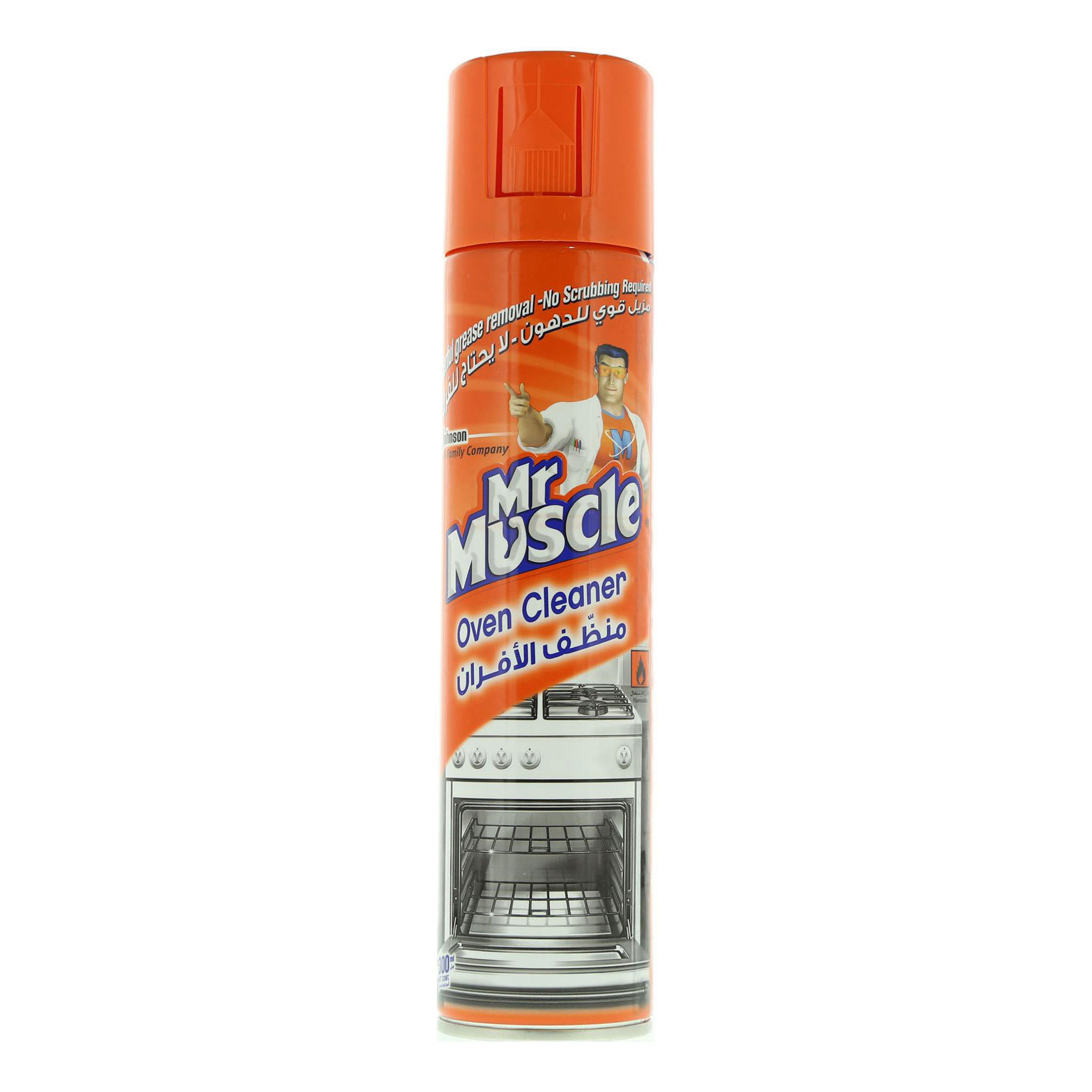 MR MUSCLE FORCE OVEN CLEANER