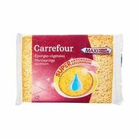 Carrefour Eponges Vegetales Super Absorberend X2