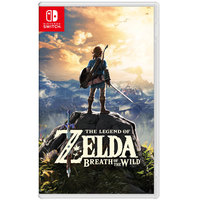 Nintendo Switch Legend Of Zelda Breath Of the Wild