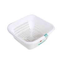 Hobby Life Emerald Square Basin With Strainer 3.8 Liter