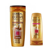 L'Oreal Paris Elvive Shampooing Extraordinary Oil For Normal Hair 400ML + Conditioner 200ML 25%