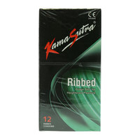 Kama Sutra Ribbed 12 Condoms