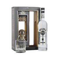 Beluga Noble Russian Vodka 40%V Alcohol 70CL + Glass