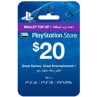 Sony PlayStation Wallet Top Up $20