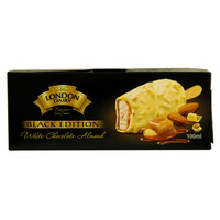 London Dairy Black Edition White Chocolate Almond 100ml