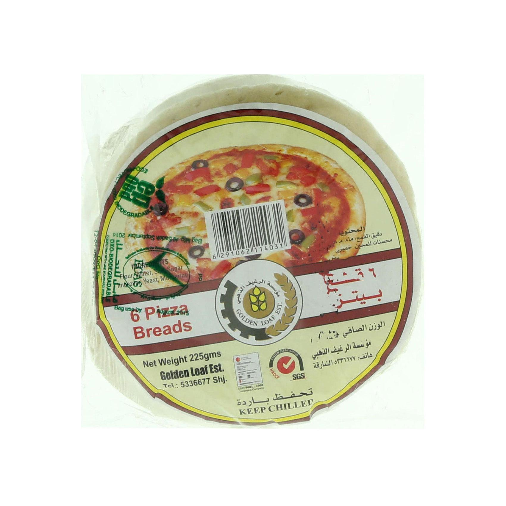 G/LOAF PIZZA BASE MINI 225G