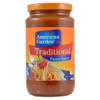 American Garden Traditional Pasta Sauce 396g