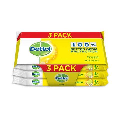 Dettol-Fresh-Skin-Wipes-40S-(2+1)