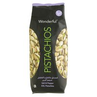 Wonderful Pistachios Salt & Pepper 450g