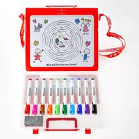 Faber-Castell Slim Marker Wonder White Board Set