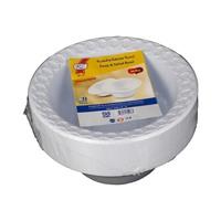 آر زي وعاء بلاستيك قياس 20 سنتيمتر 50 قطعة