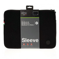 "Aiino MacBook Sleeve Antishock 13"""" Black"