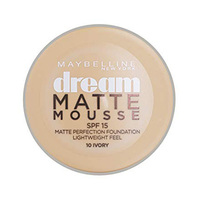 Maybelline Fondation Dream Matte Mousse  Ivory No 010 + Brush Free
