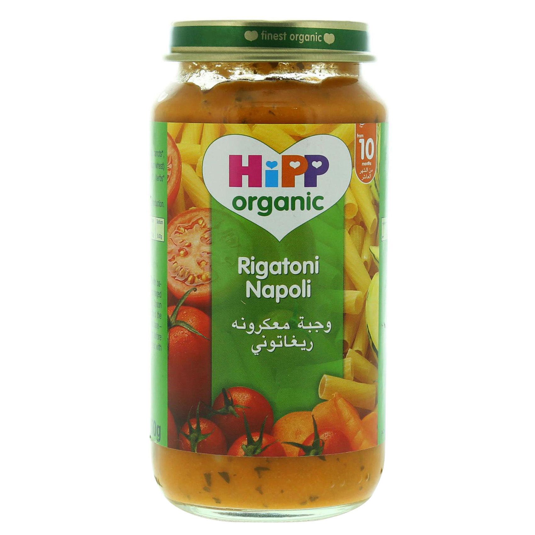 HIPP PASTA RIGATONI 250G