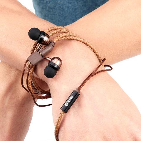 Zook-Earphone-Wristwrap-Brown