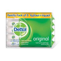 Dettol Wipes Family Pack 10 Sheets X5 Sheets