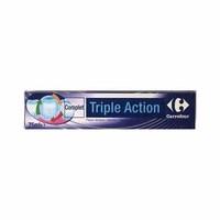 Carrefour Toothpaste Triple Action Tube 75ML