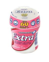 Extra Gum Strawberry Bottle 84GR