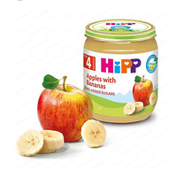 Hipp Mashed Banana & Apple From 4 Months 125GR