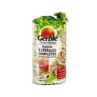 Gerble Galettes 4 Cereals Complets 108GR