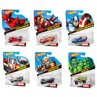Hot Wheels 1:64 Marvel Diecast Car Assortment