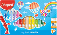 Maped Color Peps Felt Maxi 18Color