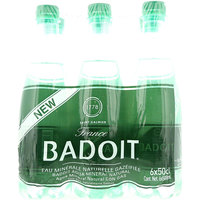 Badoit Sparkling Natural Mineral Water 500mlx6