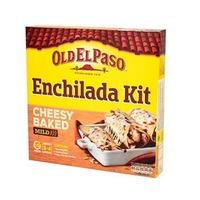 Old El Paso Enchilada Kit Cheesy Baked Mild 663GR