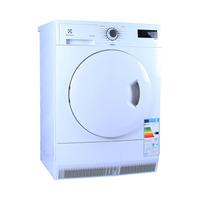 نشافة ملابس الكترولكس تحميل من الامام سعة 8 كغم مع مكثف موديل EDC2086 لون أبيض