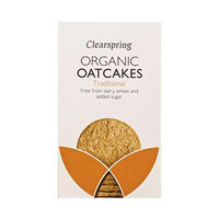 Clearspring Organic Oat Cakes 200GR