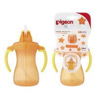 Pigeon Petite Straw Bottle (orange) Hanging Type 150ml