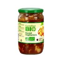 Carrefour Bio Raviolis Vegetrian 650GR