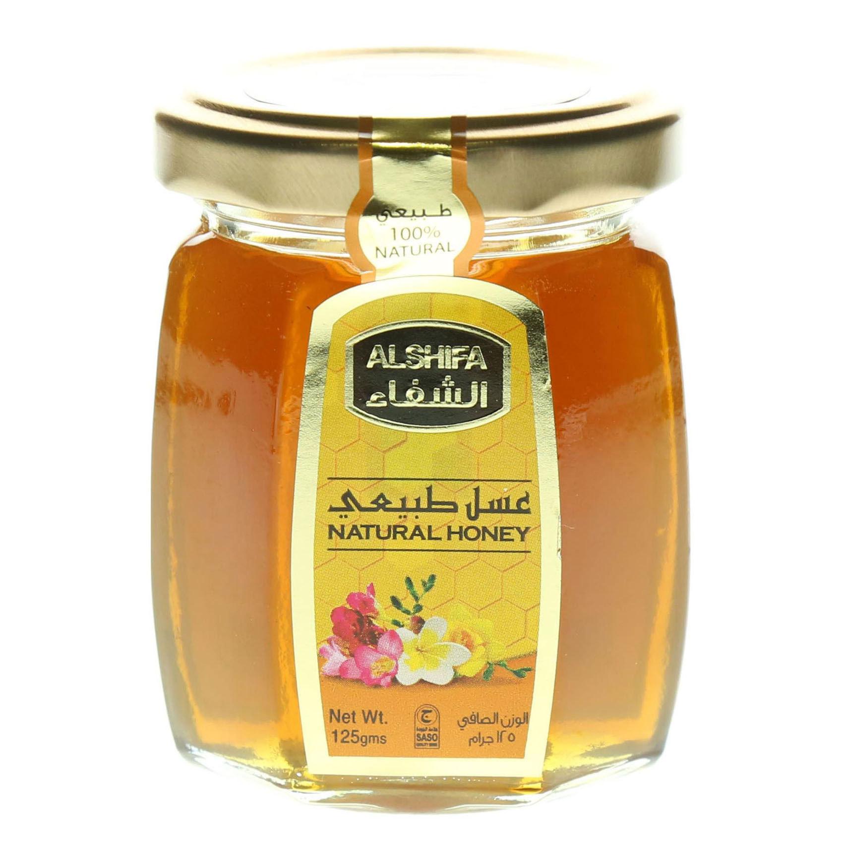 AL SHIFA HONEY NATURAL 125G