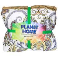 Planet Home Microfiber Comforter 150X220 Light Brown