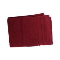 كنزي منشفة يدين قياس 50x100 سم لون عنابي