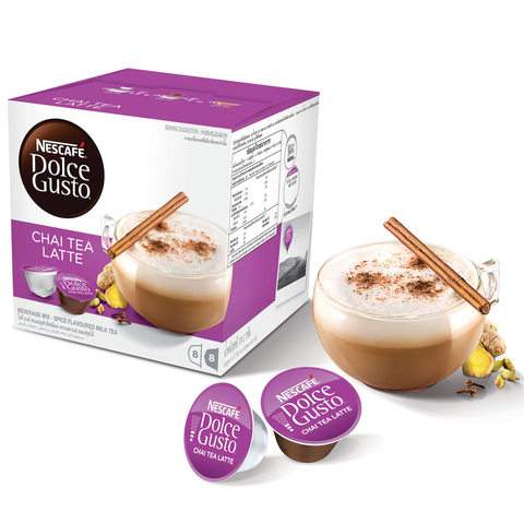 Nescafe-Dolce-Gusto-Chai-Tea-Latte-Coffee-Capsules-(16-Capsules,-8-Cups)