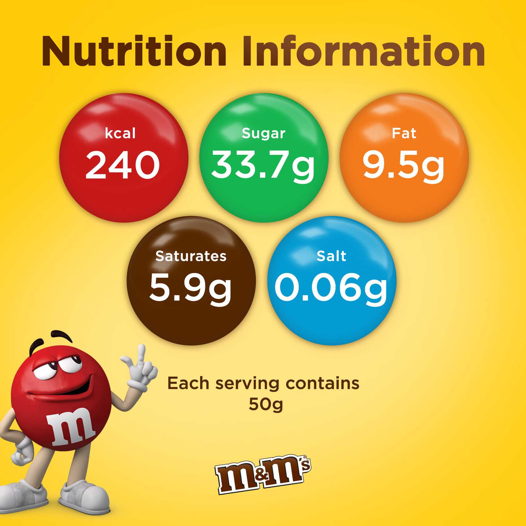 M&M'S CHOCO CANISTER 100G