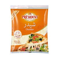 President Cheddar Slices Cheese 200g