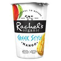 Rachel's Organic Greek Style Mango Yogurt 450g