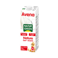 Avena Natur Green Oat Milk Nature Avoine 1L