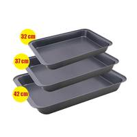 Oven Tray Rectangular 3 Pieces