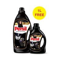 Persil Washing Liquid & Gel Black Detergent 3L +1L Free