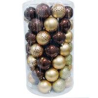 Balls Set 70Pcs /8cm Brown/Copper