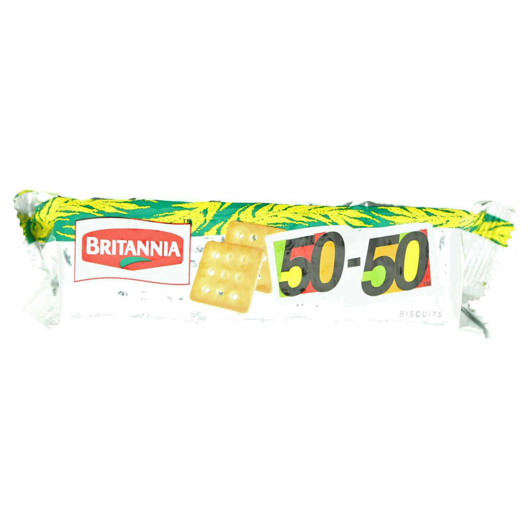 BRITANNIA BISCUITS 50-50 71GR
