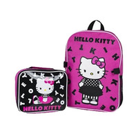 Stor Sanrio Hello Kitty Character 3D Insulation Bag With Belt And Bottle