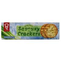 Garden Spring Onion Savoury Crackers 150g